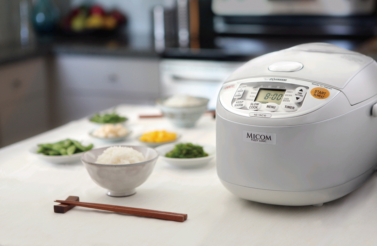 Zojirushi NS-ZCC18 10-Cup Neuro Fuzzy Rice Cooker Review
