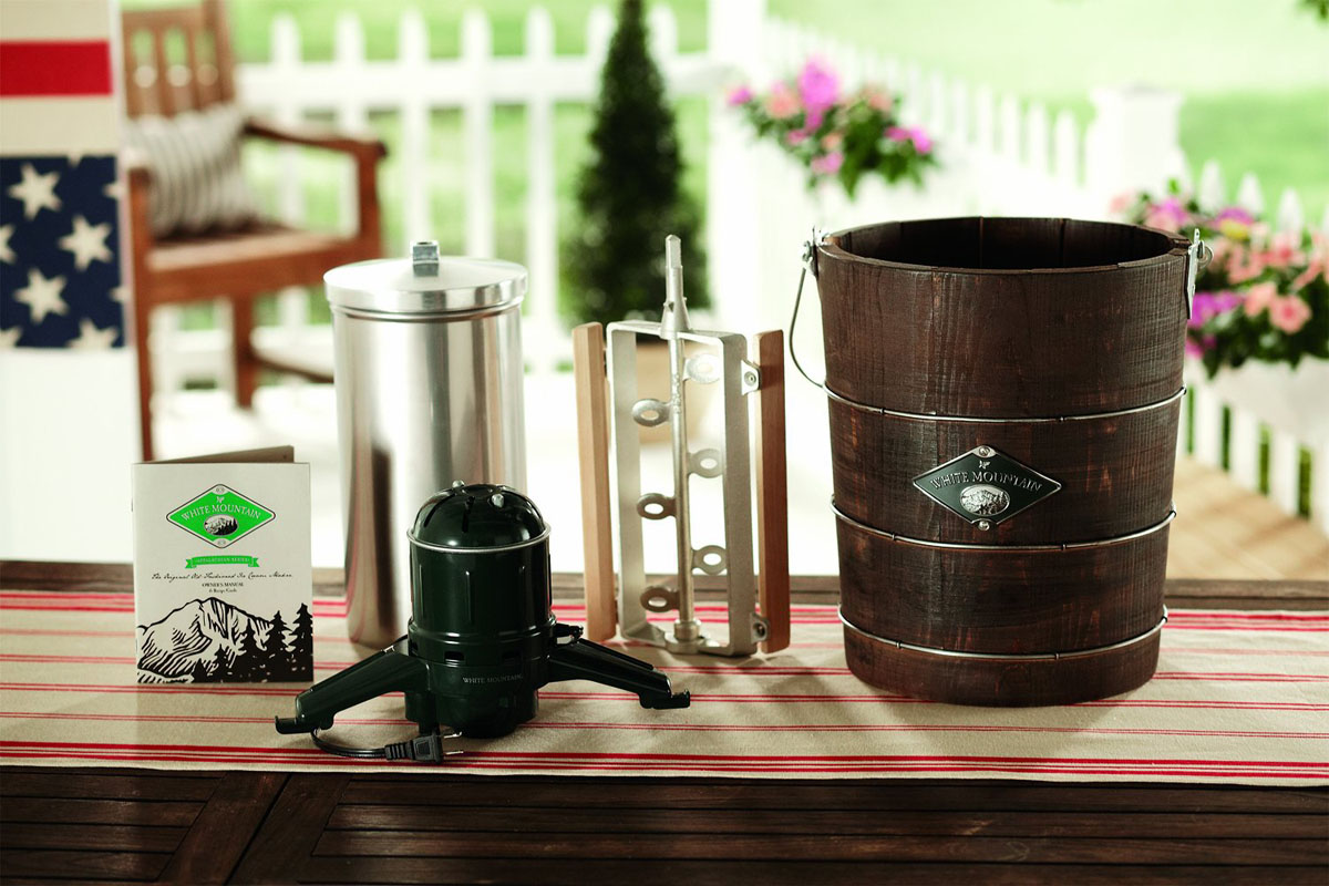 White Mountain Appalachian Series Ice Cream Maker