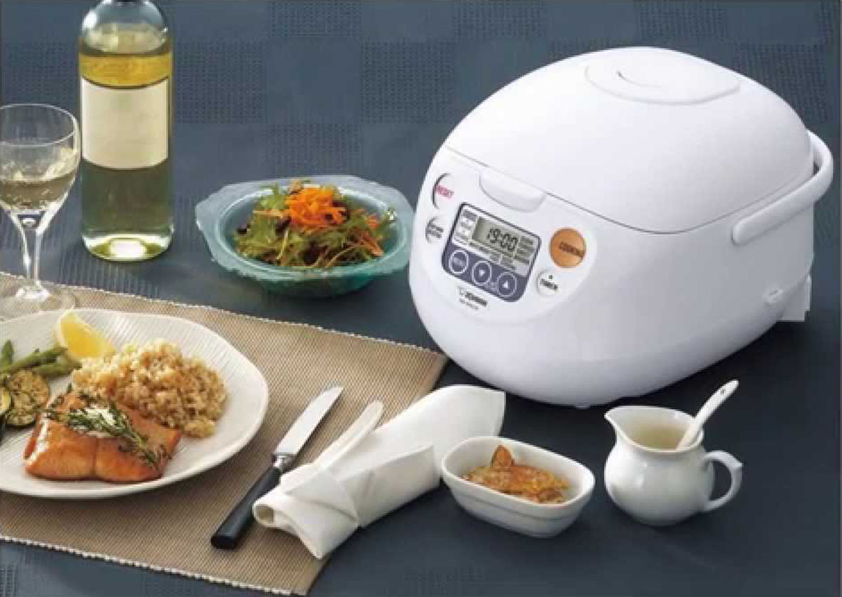 Zojirushi 5-1/2-Cup Rice Cooker & Warmer NS-ZCC10 Review And Deals
